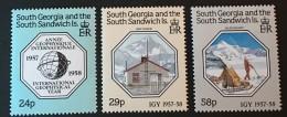 South Georgia  -  MNH** -  1987  - # 124/126 - South Georgia