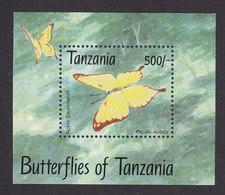 Tanzania, Scott #1056A, Mint Never Hinged, Butterflies, Issued 1993 - Tanzanie (1964-...)