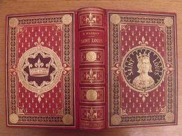 Saint Louis Par H. Wallon. Alfred Mame, Tours, 1878. Illustré. Beau Cartonnage - Books, Magazines, Comics