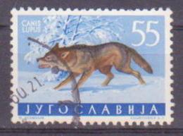 66-670 / YUGO - 1960  YUGOSLAVIAN  FAUNA - ANIMALS  Mi 923 O - 1945-1992 Socialist Federal Republic Of Yugoslavia
