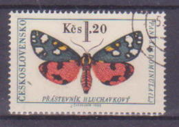 66-845 / CZ - 1966  MUSHROOMS       Mi 1624 O - Tschechoslowakei/CSSR