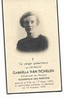 GR13/ ° PULLE 1896 + KALMTHOUT 1945 GABRIELLA VAN TICHELEN - Religion & Esotérisme