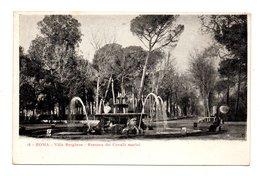 ITALIE . ROMA . VILLA BORGHESE . FONTANA DEI CAVALLI MARINI - Réf. N°8398 - - Parks & Gardens
