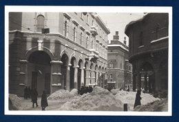 Italie. Bologna. Visione Da Piazza Mercanzia Nell'eccezionale Inverno De 1929 ( 10-14 Febbraio) - Bologna