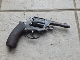 Pistolet-Revolver/Du Type 1892/De Fabrication Belge Probable/A Identifier/Du XIXem Siécle/Inerte/Non Fonctionnel/A Voir! - Armes Neutralisées