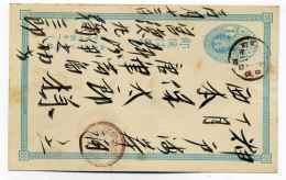 Entier JAPON / Japanese Post /   Avec Correspondance Complète - Cartas