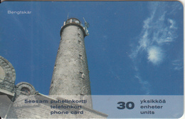 FINLAND - Lighthouse Bengtskar, Turun Puhelin Telecard, CN : 2031, Tirage 10000, Exp.date 12/03, Used - Lighthouses