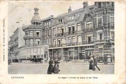 OSTENDE - La Digue : L'Hôtel Du Phare Et Les Villas - Oostende