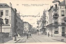 OSTENDE - Perspective De La Rue Royale - Oostende
