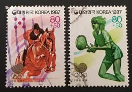 South Korea - (0) - 1987 - # B43, 45 - Korea, South