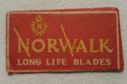 Old Blades Razor In Ambalage NORWALK Long Life Newark N. J. - Razor Blades