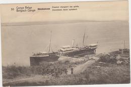 Congo Belge-Belgisch Congo Shinkakasa Stoomboot, Steamer. - Belgian Congo - Other