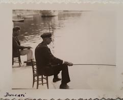 Very Old Orig. And Interesting Photo Fischer In Buccari Bakar Fisherman Carnaro Croatia Fiume - Photography