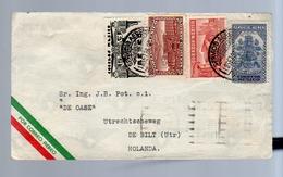 1936 TRANSIT PARIS > Ingenieur Pot, 'De Oase' De Bilt Holland (184) - Mexico