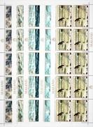 SEALAND 1970. ART. PAINTING. SEA SAILING VESSELS BIRDS... 5 SHEETS** A2017.t4.9k - Arte