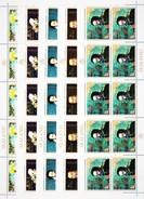 SEALAND 1970. PAINTING. SHIPS. PIRATES. DRAKE, FROBUSHER, CLIFFORD, LAPEROUSE..5 SHEETS** A2017.v3.3k - Rubens