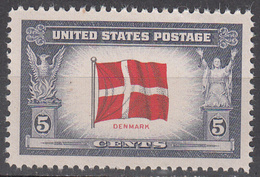 UNITED STATES     SCOTT NO. 920     MNH     YEAR  1943 - Verenigde Staten