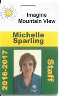 2016-2017 Imagine Schools Mountain View Employee/Staff ID Card - Las Vegas, NV - Other Collections