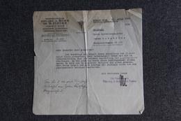 Lettre De BERLIN - PATENTAWALTE DIPL.ING A.BOHR - Allemagne