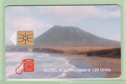 Netherlands Antilles - St Eustatius - 1996 Scenes - 120u The Quill - STAT-C2 - VFU - Antilles (Netherlands)