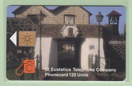 Netherlands Antilles - St Eustatius - 1998 Scenes - 120u Portal - STAT-C4a - VFU - Antilles (Netherlands)