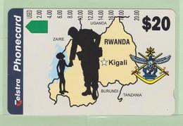 Rwanda - 1994 Australian Peace Keepers $20 - RWA-03 (I947113) - Mint - Rwanda