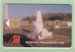 Netherlands Antilles - St Eustatius - 1996 Scenes - 60u Orange Fort - STAT-C1 - VFU - Antilles (Netherlands)