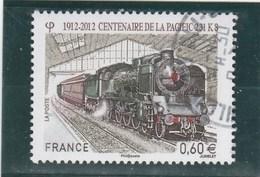 FRANCE 2012 TRAIN YT 4655 OBLITERE -                                        TDA251 - France
