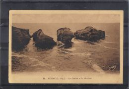 44212 . PIRIAC . LA COUETTE ET LES OREILLERS . (recto/verso) - Piriac Sur Mer