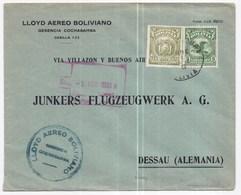 803 - Pour L'Allemagne - Bolivia