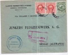 804 - LLOYD AEREO BOLIVIANO - Bolivia