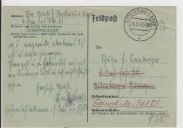 Feldpostkarte - Stempel Stockerau Lager - 1942 - Deutschland