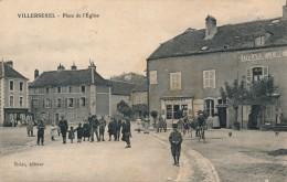 H83 - 70 - VILLERSEXEL - Haute-Saône - Place De L'Église - France