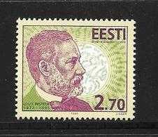 ESTONIE 1995 LOUIS PASTEUR  YVERT N°268  NEUF MNH** - Louis Pasteur