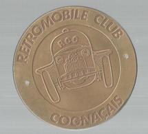 Médaille Uniface , RETROMOBILE CLUB COGNACAIS , Automobile , RCC , COGNAC, Frais Fr 2.85e - Professionals / Firms
