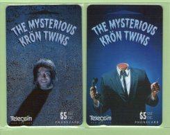 New Zealand - 1995 Kron Twins Set (2) - Mint - NZ-P-47/48 - Neuseeland