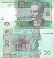 Ukraine 2011 - 20 Hryven - Pick 120 UNC (Signature - Arbuzov) - Ukraine