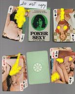 JEU DE CARTES POKER SEXY - Trading Cards