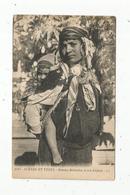 Cp Voyagée De Bizerte , TUNISIE , Scénes Et Types , Femme Bédouine Et Son Enfant , Ed. LL , N° 6093 - Tunesië