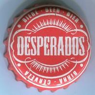 CAPSULE-BIERE-FRA-BRASSERIE FISCHER Desperados Rouge & Blanc Grande écriture - Bier