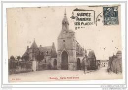 72 MAMERS EGLISE NOTRE DAME CPA BON ETAT - Mamers