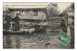 93 SEINE SAINT DENIS - ILE SAINT DENIS Quai Du Saule Fleuri Inondé - L'Ile Saint Denis