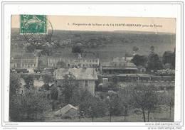 72 LA FERTE BERNARD PERSPECTIVE DE LA GARE PRISE DU TERTRE - La Ferte Bernard
