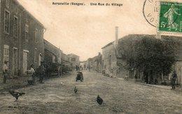 CPA - Environs De NEUFCHATEAU (88) AVRANVILLE - Aspect De La Rue Principale En 1912 - France