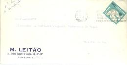 LETTER 1963 LISBOA - 1910-... República