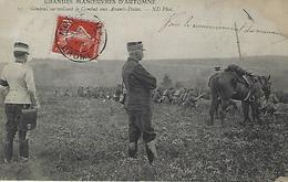 Manoeuvres D'automne-general Surveillant Le Combat - Manoeuvres