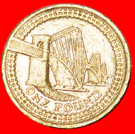 √ FORTH BRIDGE: GREAT BRITAIN ★ 1 POUND 2004!!! LOW START ★ NO RESERVE! - 1971-… : Decimal Coins