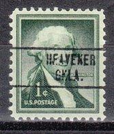 USA Precancel Vorausentwertung Preo, Locals Oklahoma, Heavener 748 - Vereinigte Staaten