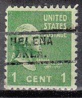 USA Precancel Vorausentwertung Preo, Locals Oklahoma, Helena 729, Perf. Not Perfect - Préoblitérés
