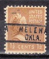 USA Precancel Vorausentwertung Preo, Locals Oklahoma, Helena 818 - Vereinigte Staaten